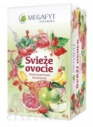 MEGAFYT Svieže ovocie ovocný čaj 20x2 g (40 g)