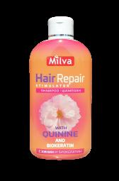 Šampón Hair repair s chinínom 200ml Milva