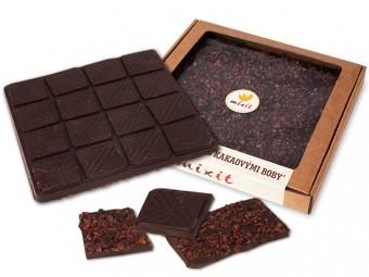 Čokoláda 'Horká s kakaovými bôbmi'