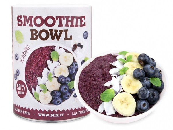Smoothie bowl- Čučoriedka