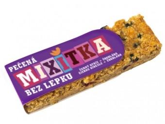 Mixitka BEZ LEPKU - čierne ríbezle + čokoláda