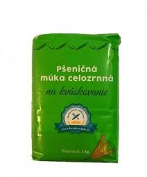 Akcia spotreba 02.09.2021 Pšeničná múka celozrnná na kváskovanie 1 kg