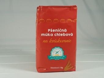 Pšeničná múka chlebová na kváskovanie 1 kg