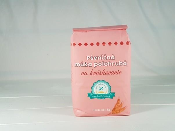 Pšeničná múka polohrubá na kváskovanie 1 kg