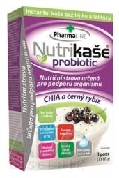 Nutrikaša probiotic - CHIA a čierna ríbezla 3x60 g (180 g)