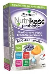 Nutrikaša probiotic - čučoriedka a marhuľa 3x60 g (180 g)
