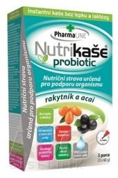 Nutrikaša probiotic - rakytník a acai 3x60 g (180 g)
