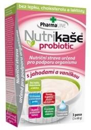 Nutrikaša probiotic - s jahodami a vanilkou