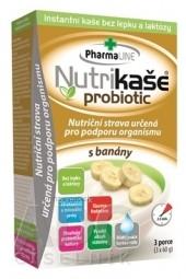 Nutrikaša probiotic - s banánom 3x60 g (180 g)