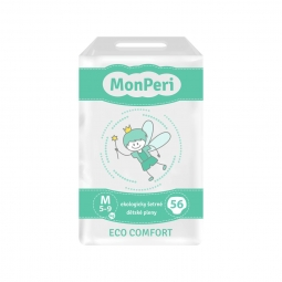 Monperi Eco Comfort M 5-9 kg, 56ks