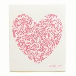 More Joy Červené srdce - utierka