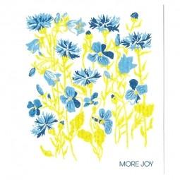 More Joy Modré kvety- utierka