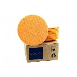 More Joy More Joy kozmetický tampón 12ks oranžový