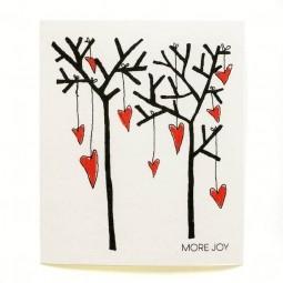 More Joy Stromy a srdcia - utierka