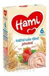 Hami mliečna kaša ryžová jahodová