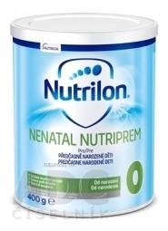 Nutrilon 0 NENATAL NUTRIPEM špeciálna mliečna výživa v prášku (od narodenia) (inov.2019) 1x400 g
