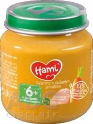 Hami príkrm Zelenina s duseným jahňacím (od ukonč. 6. mesiaca) 1x125 g