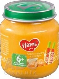 Hami príkrm Mrkva s teľacím a zemiakmi (od ukonč. 6. mesiaca) 1x125 g