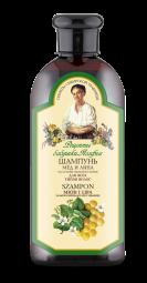 Agafja šampón med a lipa pre všetky typy vlasov