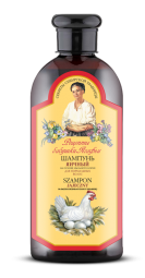 Agafja šampón na báze vaječného žĺtku pre normálne vlasy