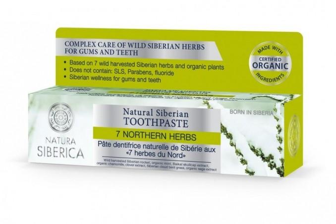 Prírodná sibírska zubná pasta - 7 sibírskych bylín