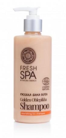 Prírodný výživný šampón Zlatý rakytník BANIA DETOX