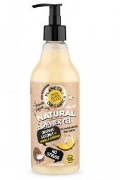 Prírodný sprchový gél Bez stresu - Organický kokos a vanilkový banán