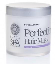 Vlasová maska na obnovu zničených vlasov - Dokonalosť *Imperial Caviar*