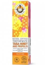 RBA Prírodná certifikovaná zubná pasta - Med z Tajgy a Propolis - Zdravé ďasná