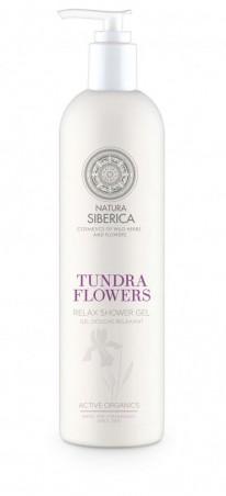 Siberie Blanche - kvety Tundry- relaxačný sprchový gél