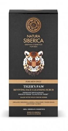Oživujúci pleťový peeling Tigria laba