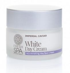 Biely omladzujúci pleťový denný krém na tvár Imperial Caviar