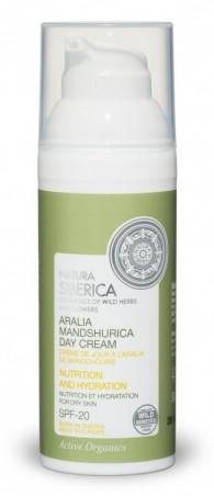 Denný výživný hydratačný krém z arálie mandžuskej na suchú pleť