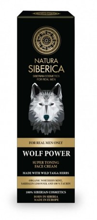 Super tonizujúci krém na tvár Sila vlka