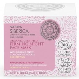 Prírodná spevňujúca nočná maska na tvár