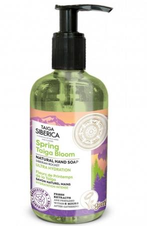 Taiga Siberica - prírodné mydlo na ruky - Jarný rozkvet Taigy - Ultra hydratácia