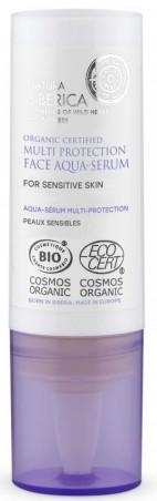 Aqua-sérum viacnásobná ochrana tváre na citlivú pokožku