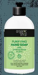 Čistiace mydlo na ruky s antibakteriálnym účinkom