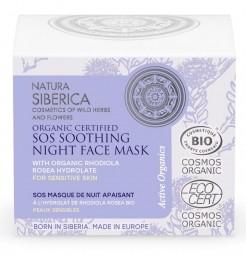 Prírodná SOS upokojujúca maska pre citlivú pleť