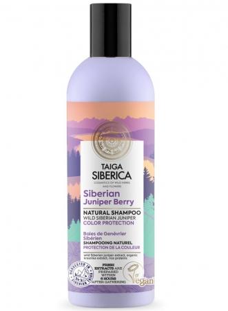 Taiga Siberica - prírodný šampón - Sibírska borievka - Ochrana farbených vlasov