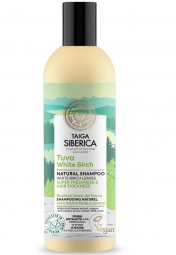 Taiga Siberica - prírodný šampón - Tuva biela breza - super sviežosť a hustota vlasov