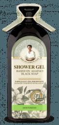 Agafja hydratačný sprchový gél na báze čierneho mydla