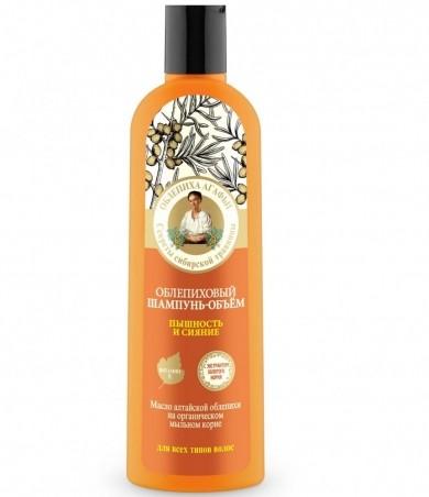 RBA Rakytníkový šampón na objem a žiarivosť