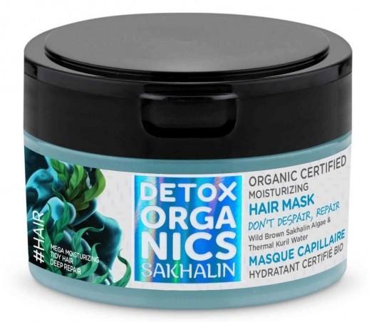 Detox organics - Sakhalin - hydratačná maska na vlasy