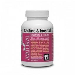 AKCIA SPOTREBA: 03/2021 Cholín a Inozitol 125 mg + 125 mg, 100 kapsúl
