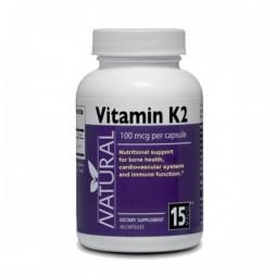 Vitamín K2 100 mcg, 60 kapsúl