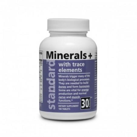 Minerály a stopové prvky, 100 tabliet