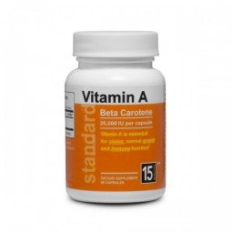Vitamin A Betakarotén 25 000 IU, 60 kapsúl