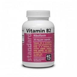 AKCIA SPOTREBA: 05/20021 Vitamín B2 20 mg 100 kapsúl