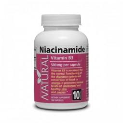 Vitamín B3 - Niacinamid - 500 mg - 100 kapsúl